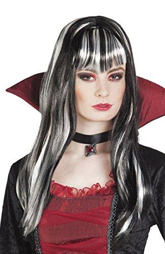Raadselachtige vampier pruik voor vrouw