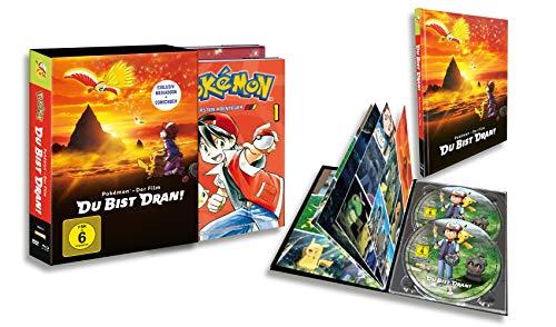 Pokémon – Der Film: Du bist dran! (Mediabook DVD/Blu-ray-Combo mit Comic) [Limited Edition]