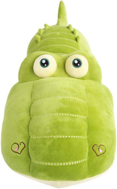L&WB Krokodil Plüsch Weiches Spielzeug Kissen Mdchen Mit Einem Schlafenden Groen Puppen Geschenk, Grün,110Cm
