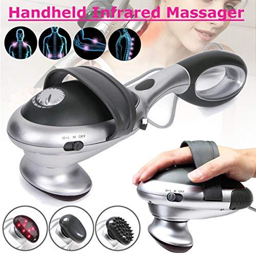 LUCKYFINE Electric Infrared Heat Massager Handheld Percussion Machine Wand Back Full Body 220V EU Plug