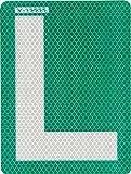 Valmoni sport placa l novel pegatina para exterior ideal para coches con lunas tintadas somos autoescuela l novel pegatinas homologada l