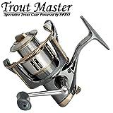 Trout Master Tactical Trout 2 - Forellenrolle zum Angeln auf Forellen, Stationärrolle zum...