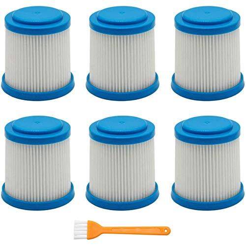 YBINGA 7 paquetes VPF20 filtros de repuesto Smartech Pet Litio 2-en-1 inalámbrico Stick Partes de aspirador Accesorios filtro Partes de aspirador