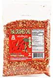 JHC Extra Hot Crushed Thai Chili Pepper, Spicy Pepper Flakes, 7 Ounce / 200gram, Product of Thailand