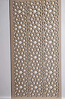 LaserKris Meuble de radiateur Mural d/écoratif Panneau MDF perfor/é 4 x 2 3D2