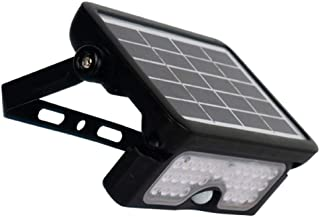 Luceco LED Flood Light Black 5W Motion Sensor, Easy Installation, Outdoor use, No Wires Needed