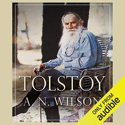 Tolstoy                   By:                                                                                                                                 A N Wilson                               Narrated by:                                                                                                                                 John Telfer                      Length: 21 hrs and 30 mins     13 ratings     Overall 4.5