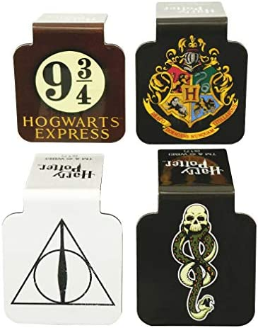 Ata Boy Harry Potter Assortment 1 Set of 4 1 Magnetic Page Top Bookmarks product image
