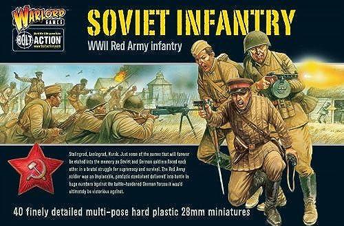 Bolt Action  Soviet Infantry (40)