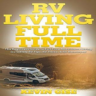 RV Living Full Time audiobook cover art
