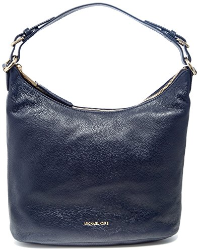 Michael Kors - Lupita, Shoppers y bolsos de hombro Mujer, Blue (Admiral),...