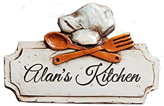 product image for Piazza Pisano Personalized Chef Hat Kitchen Plaque