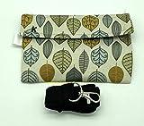 Imaskki, bolso para llevar y proteger tus mascarillas, diseño Hojas Grandes