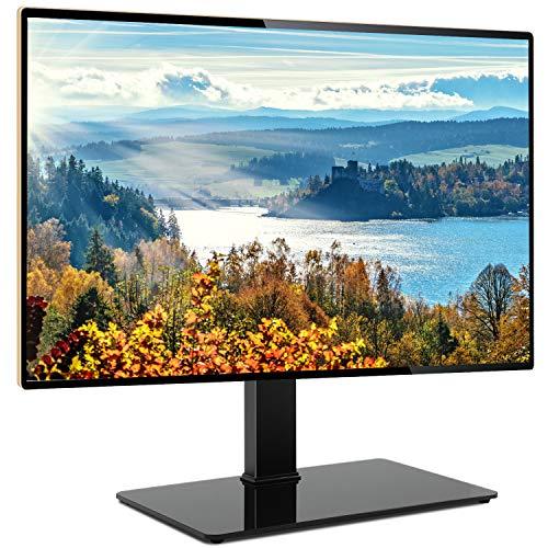 RFIVER Universal TV Standfuss Standfuß Tischständer für 65 70 75 80 Zoll Max. VESA 600x400 mm TV Ständer Fuss Fuß Höhenverstellbar Schwenkbar UT5001