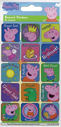George And Peppa Pig Reward Stickers