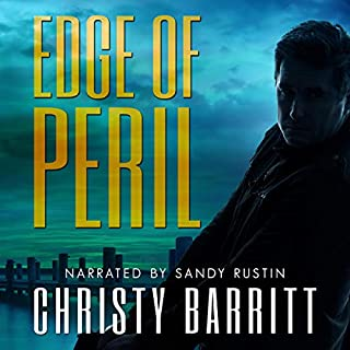 Edge of Peril audiobook cover art