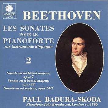 Beethoven: Les sonates pour le piano-forte sur instruments d'époque, Vol. 2