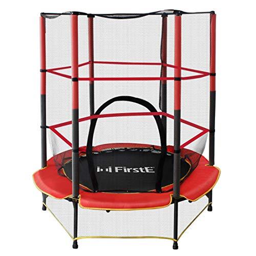 FirstE 55'' Kids Trampolines, Mini Trampoline for Children...