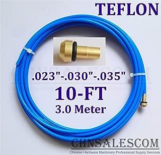CHNsalescom PTFE Liner 10-ft MIG Welding Guns Wire Size 0.023