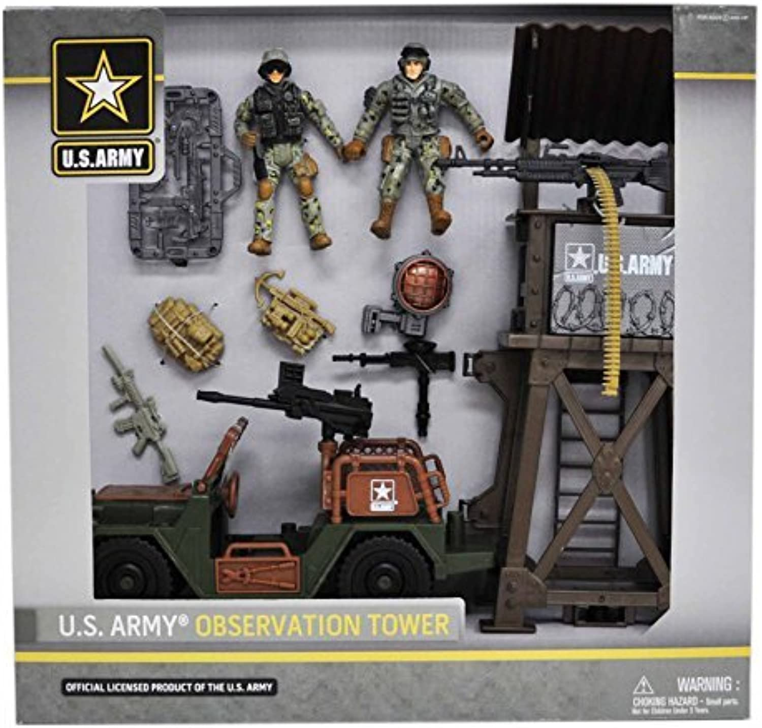 United States Army Observation Tower Playset by United States Army