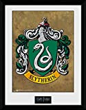 Harry Potter 1art1 Slytherin, Wappen Gerahmtes Bild Mit