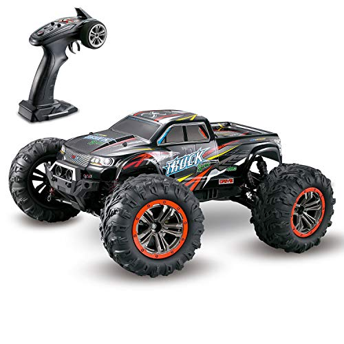 Hosim Ferngesteuertes Auto, 1:10 Große Maßstab RC Buggy Car, Elektro-Spielzeugauto für Kinder Und Erwachsene (Rot)