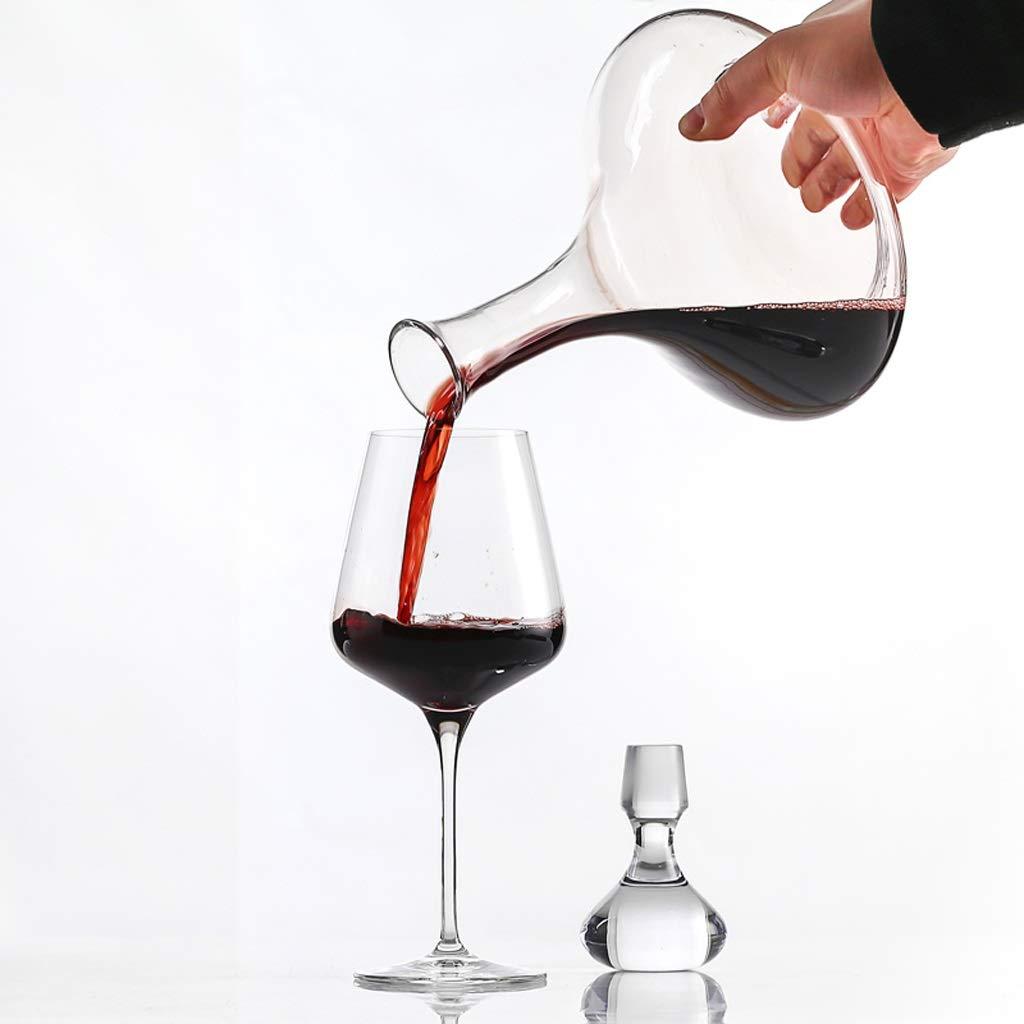 Embarcaciones 1.5L Decantador de Vino |Vino Accesorios Estuche Incluido |Clásico Sin Plomo de Cristal De Aireación del Vino De La Jarra Set |Optimizado For Uso En El Hogar Y El Partido: Amazon.es: