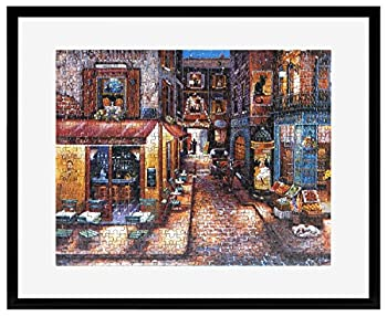 MCS Frame for Puzzles Sized 24x30 or Smaller Black 24 x 30