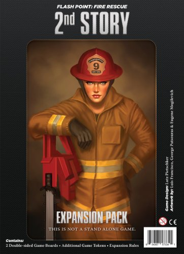 Indie Boards & Cards IBG0FP03 - Flash Point: Fire Rescue - 2nd Story Expansion Brettspiele