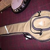 Boulder CB-369BL Alpine Deluxe Resonator Banjo Gig Bag Navy Blue