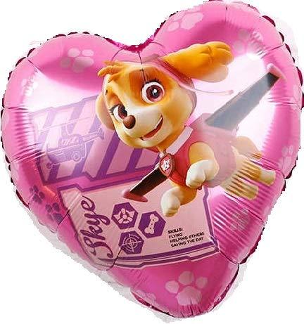 Generisch Ballon XXL Folienballon Luftballon - Paw Patrol Hund - Kindergeburtstag Deko (Skye)