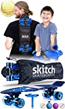 SKITCH Complete Skateboards Gift Set for Beginners Boys and Girls of All Ages with 22 Inch Mini Cruiser Board + All...