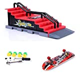 ZYAQ Mini Skate Park Ramp Parts for Tech Deck Fingerboard Finger Skateboard Ultimate
