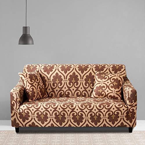 Elastische Sofabezug Langlebige wasserdichte Sofa Protector Schlafzimmer Arbeitszimmer(Double seat 145-185cm)