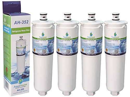 4x AH-352A compatibel voor Abode Aquifier kraan AT2002 Safelock waterfilter vervangen