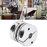 Conector de acoplamiento de eje, acoplamiento flexible de tamaño compacto resistente a la...