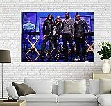 XWKCHCL Leinwand Poster Black Eyed Peas Kunst Malerei