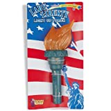 Lets Party By Forum Novelties Inc Light Up Liberty Torch / Green - Size One - Size