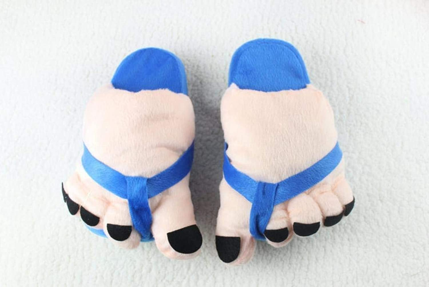 Lady Slippers Ladies Casual Cute Toes Style Appearant Slippers Super Soft Plush Paws Comfortable Special Design Home Leisure Cotton Slippers