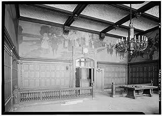 HistoricalFindings Photo: Hudson County Courthouse,583 Newark Avenue,Jersey City,New Jersey,NJ,HABS,24
