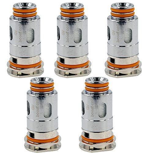 GeekVape Mesh B Coils (0,6 Ohm), DL Verdampferköpfe für e-Zigarette, 5 Stück