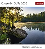 Oasen der Stille Postkartenkalender 2020. Wochenkalendarium. Blockkalender. Format 16 x 17,5 cm - Harenberg