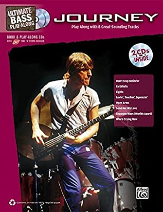 Ultimate Bass Play-Along Journey: Authentic Bass Tab, Book & 2 Enhanced CDs