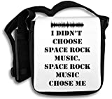 I Didn't Choose Space Rock Music Slogan Schultertasche
