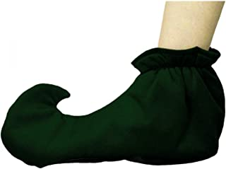 Dark Green Adult Elf Shoes