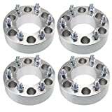 4pcs 2' 6x135 to 6x135 Wheel Spacers | 14x2 Coarse Studs | Fits Ford Expedition F150 Lincoln Navigator Mark LT Adapters