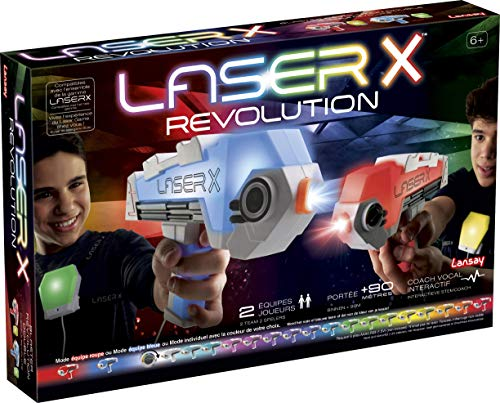 Lansay- Juego de Tiro Interactivo - Laser Game (88046)