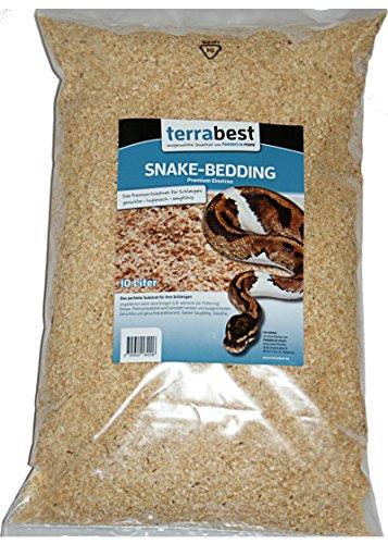 Snake Bedding, Premium Substrat Einstreu 20 Liter Bodengrund Einstreu Terrarium