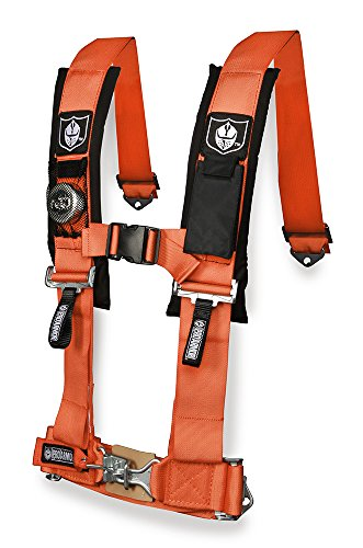 """Pro Armor A114220OR Orange 4-Point Harness 2"""" Straps"""