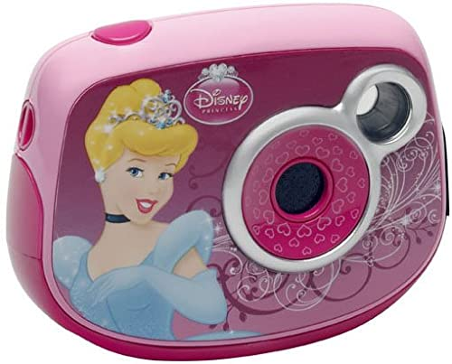 Lexibook DJ014DP Disney Princess Digitalkamera (1,3 Megapixel, 8MB interner Speicher)